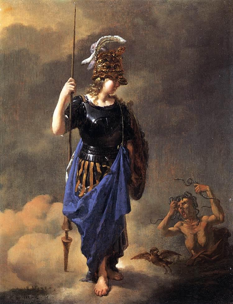 https://commons.wikimedia.org/wiki/File:Karel_Dujardin_-_Pallas_Athene_Visits_Invidia,_1652.jpg